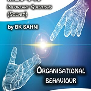 MES-043: Organisational Behaviour (IGNOU MA Education HelpBook)