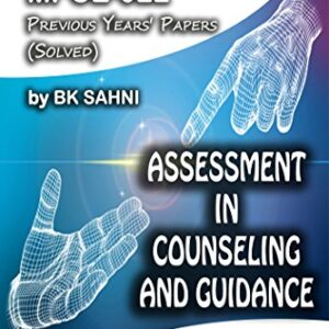 MPCE-022: ASSESSMENT IN COUNSELING AND GUIDANCE (IGNOU MA Psychology HelpBook)