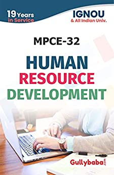 IGNOU MPCE-32 Human Resourse Development: IGNOU Notes with Solved Previous Years' Question Papers and Important Exam Notes