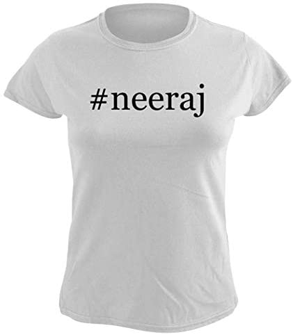 Harding Industries #Neeraj - Women's Hashtag Graphic T-Shirt