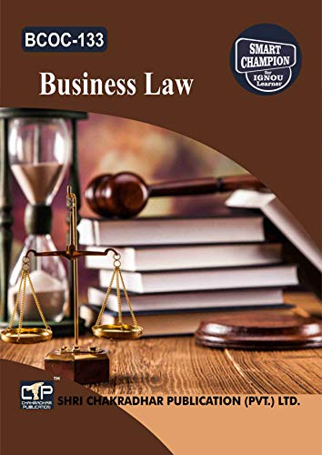 BCOC 133 BUSINESS LAW SOLVED GUESS PAPERS FOR IGNOU EXAM PREPARATION WITH LATEST SYLLABUS