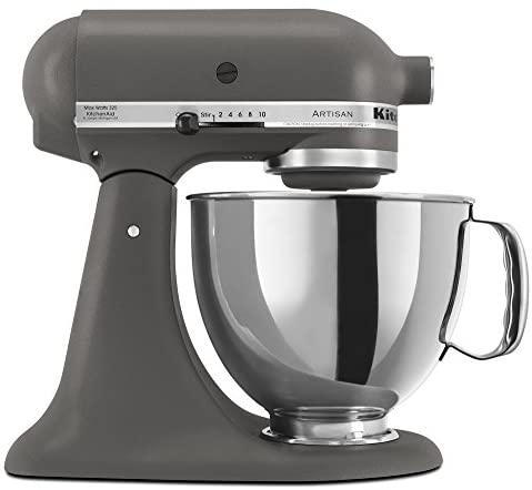 KitchenAid RRK150GR  5 Qt. Artisan Series - Imperial Grey (Renewed)