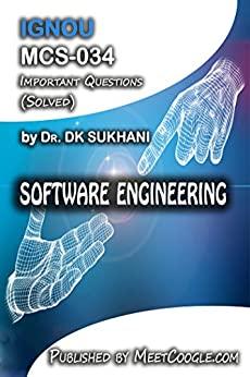 MCS-034: Software Engineering (IGNOU MCA HelpBooks)