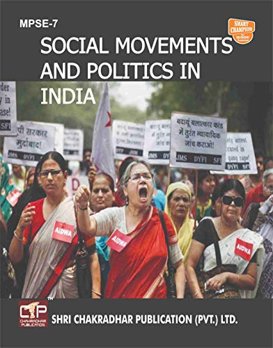 MPSE 7 SOCIAL MOVEMENTS AND POLITICS IN INDIA SOLVED GUESS PAPERS FOR IGNOU EXAM PREPARATION WITH LATEST SYLLABUS