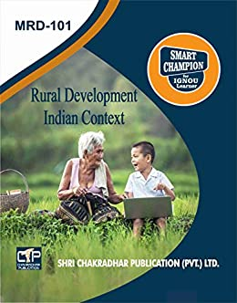 MRD 101 RURAL DEVELOPMENT – INDIAN CONTEXT SOLVED GUESS PAPERS FOR IGNOU EXAM PREPARATION WITH LATEST SYLLABUS