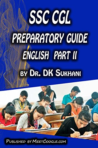 SSC CGL Preparatory Guide –English (Part 2) (SSC CGL Preparatory Guide Series)