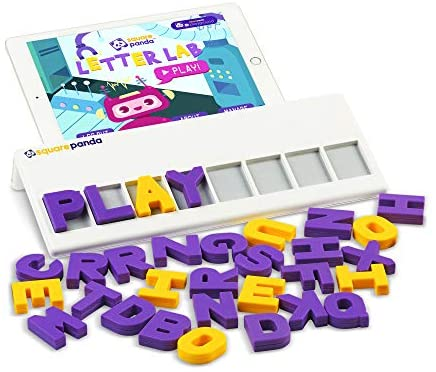 Square Panda Multisensory Phonics Playset for Kids Learning to Read - Home Edition