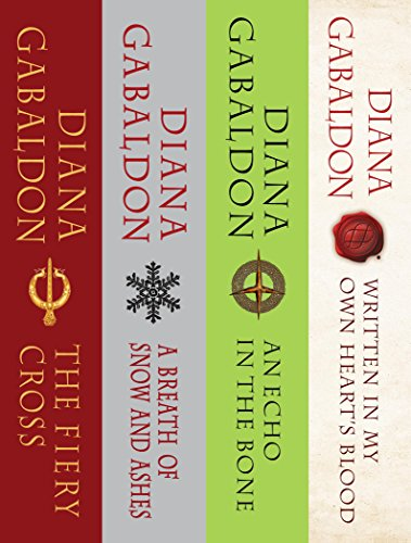 The Outlander Series Bundle: Books 5, 6, 7, and 8: The Fiery Cross, A Breath of Snow and Ashes, An Echo in the Bone, Written in My Own Heart's Blood